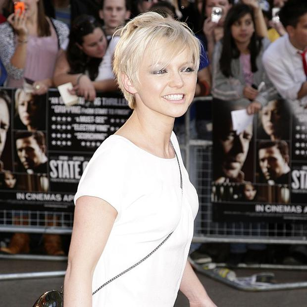 Hannah Spearritt says her character Abby finds love