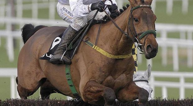 Pandorama on his way to victory in the Lexus Chase at Leopardstown