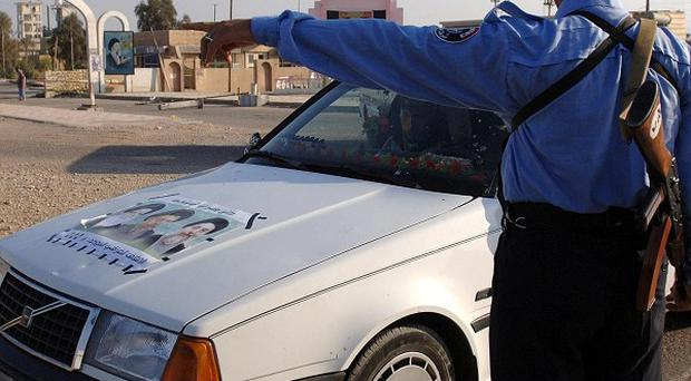 A police commander died as a result of an attack on Iraq's First Police Batallion