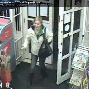 The CCTV footage shows Joanna Yeates entering Bargain Booze on the night she disappeared