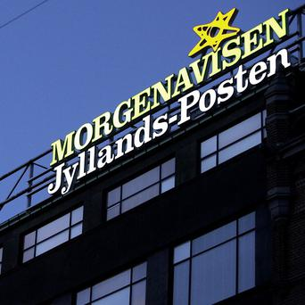 PET said the group was planning to enter the building where the Jyllands-Posten newspaper has its Copenhagen newsdesk
