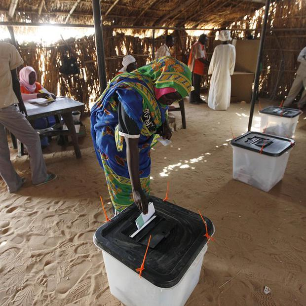 Hundreds of thousands of people are expected to return to Sudan for elections next month