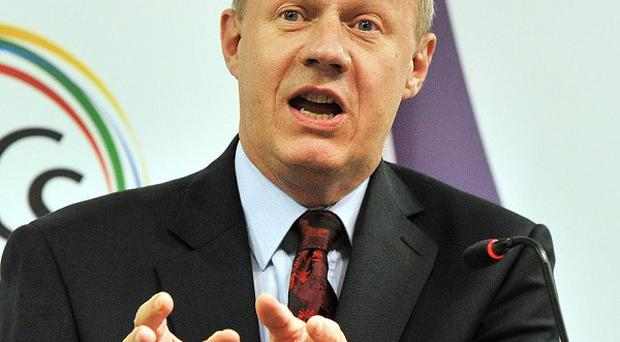 Immigration minister Damian Green said the Government will exert pressure on immigration during the next Parliament