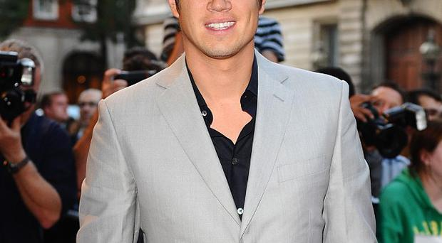 Vernon Kay tweeted that he would be working with Spielberg