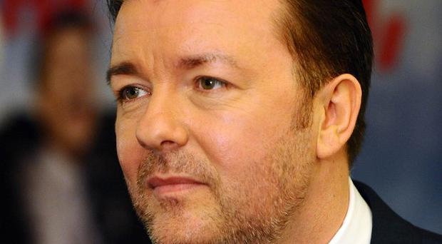 Ricky Gervais is not ashamed to say he's an artist