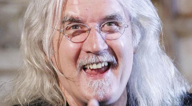 Billy Connolly modelled his king character on Prince Charles