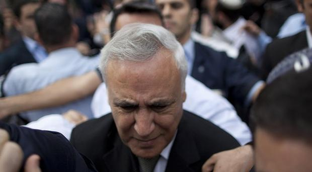 Moshe Katsav has been convicted of raping an employee when he was a Cabinet minister (AP)