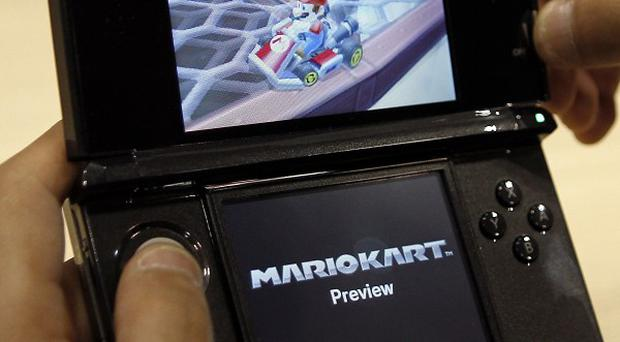Nintendo said games on its 3DS could harm the eyesight of children (AP)