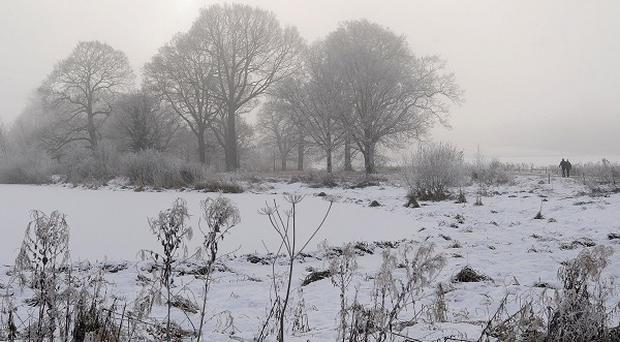 The past month was the UK's coldest December in 120 years