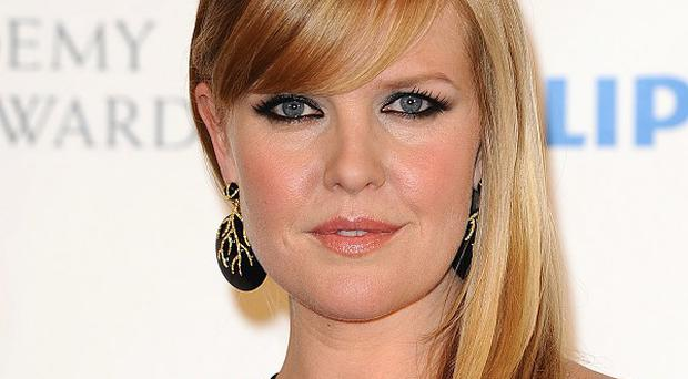Ashley Jensen has no plans to diet in the New Year