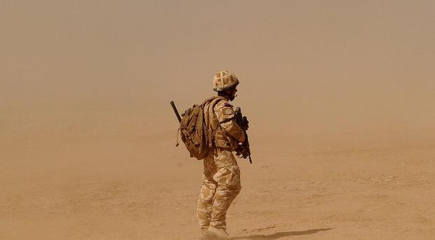 A British soldier has died after being caught in an explosion in southern Afghanistan