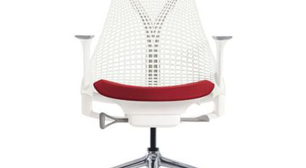 The Sayl chair was inspired by the Golden Gate Bridge