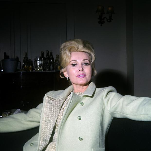 Actress Zsa Zsa Gabor at a London hotel in 1966