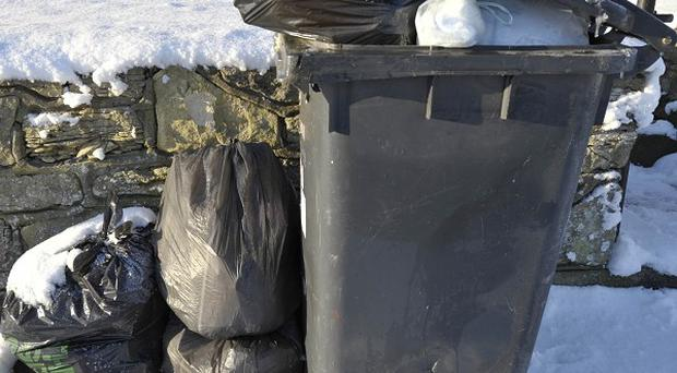 Councils have been urged to show 'more initiative' about how they can maintain refuse collections during holiday periods