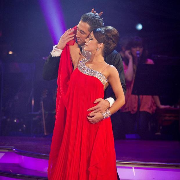 Gavin Henson and Katya Virshilas perform on Strictly Come Dancing