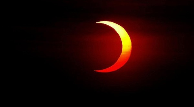People hoping to catch a glimpse of a solar eclipse are likely to be disappointed because of clouds
