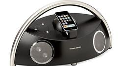 <b>1. Best when space is no object </b><br/> Harman Kardon Go + Play Micro <br/> It's big but it's portable (lift it by its stainless steel arch). It's simple to use: plonk an iPhone in, press play. As you'd expect from Harman Kardon, the audio is great: powerful bass and a wide sound. Deeply impressive. <br/> £299 <br/> harmankardon.com