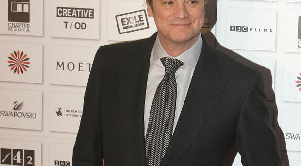 Colin Firth says his own experiences informed the role
