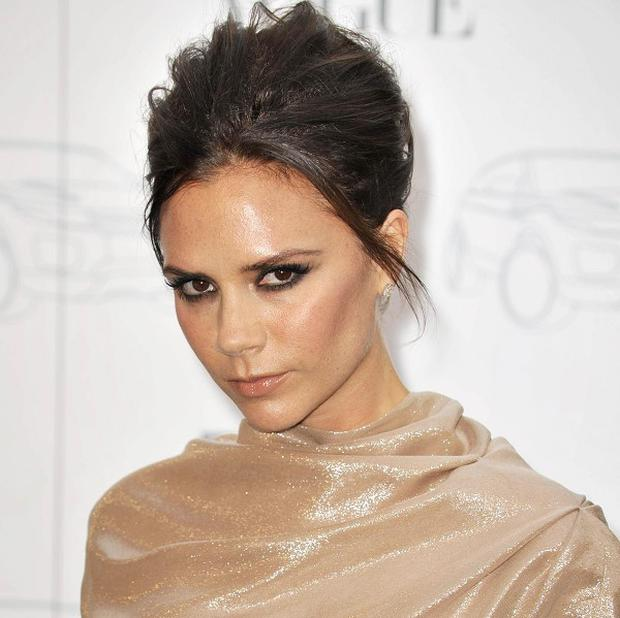 Victoria Beckham says husband David doesn't look his best in the morning
