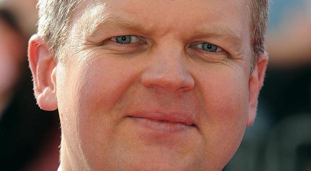 Adrian Chiles admitted he finds the sight of himself on television 'repellent'