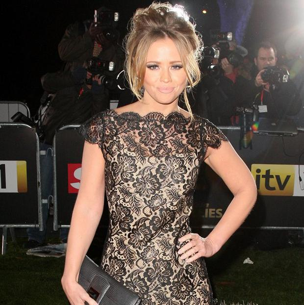 Kimberley Walsh now has a healthy relationship with food
