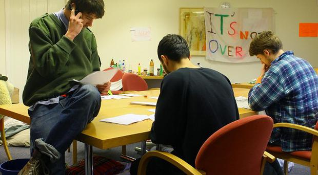 University of Kent students have occupied the Senate building since December 8