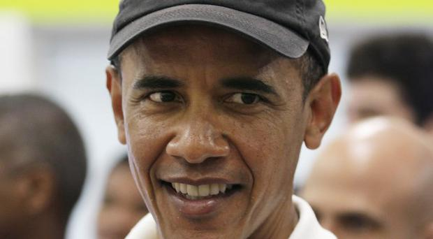 US President Barack Obama is poised for head-to-head clashes with the Republican party (AP)
