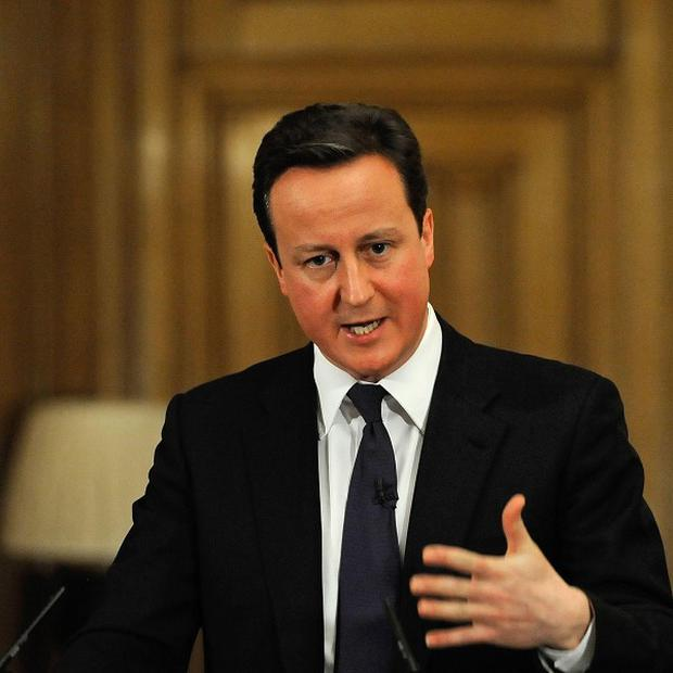 David Cameron has announced the expansion of a scheme to help the jobless set up their own firms
