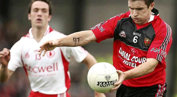 Down's Liam Doyle (right) is one of several top Ulster players who have been out of action of late.