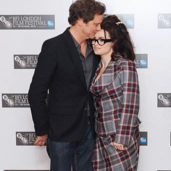 Helena Bonham Carter said Colin Firth is a real chatterbox