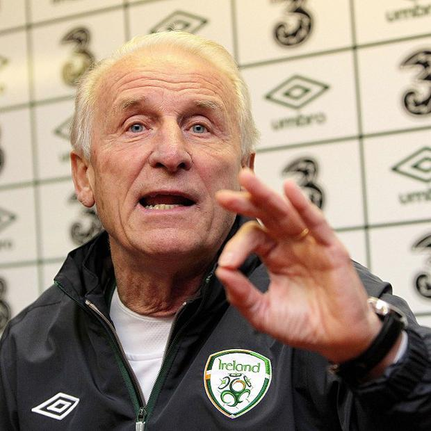 Republic of Ireland manager Giovanni Trapattoni is 'recovering well' from a scheduled operation