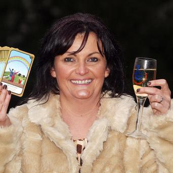 Psychic Ocean Kinge who predicted a lottery win and won £1m on the EuroMillions Christmas Eve raffle
