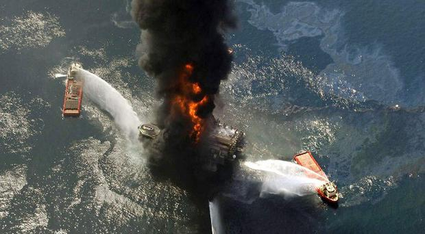 The explosion led to more than 200 million gallons of oil spewing from a well in the Gulf of Mexico (AP)