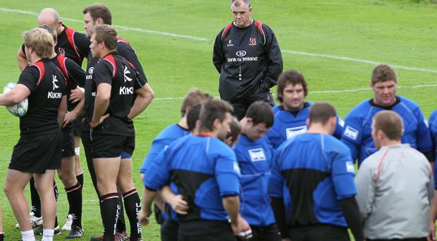 Ulster coach Brian McLaughlin is looking beyond tonight's match to the clash with Biarritz