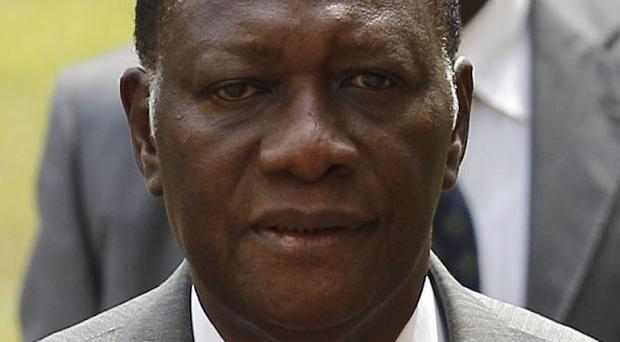 Alassane Ouattara has called for special forces to remove Ivory Coast's incumbent president Laurent Gbagbo (AP)