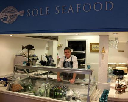 CATCH OF THE DAY: Sole Seafood and chef patron Neil Auterson