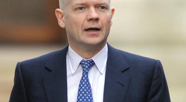 Foreign Secretary William Hague accused Labour of seeking to 'deny the British people their new democratic power'