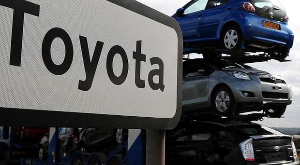 Car recalls by Toyota, BMW, Rolls-Royce and Ferrari contributed to a jump in product recalls in the UK