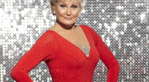 Angela Rippon and Nadia Sawalha were the first celebrities to leave the qualifying rounds of Dancing On Ice
