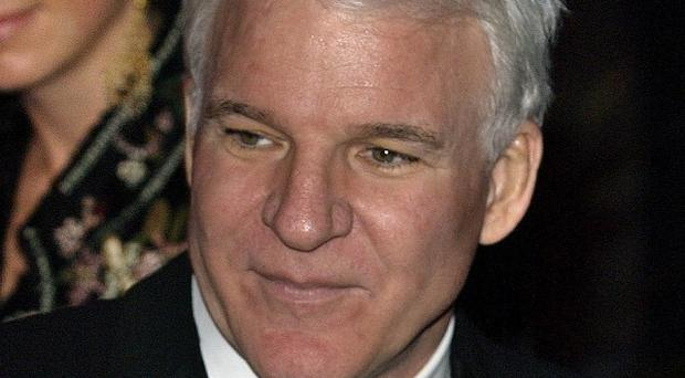Steve Martin has recorded a new album of bluegrass music