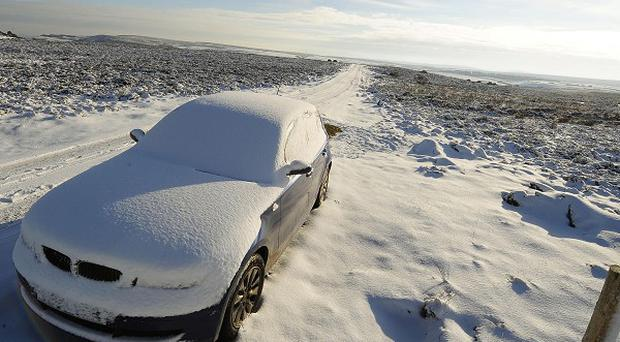 Wintry weather looks set to give way to milder conditions