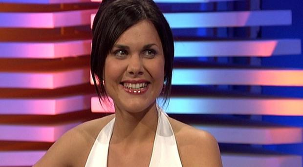 Michaela Harte appearing on the television programme the Late Late Show.