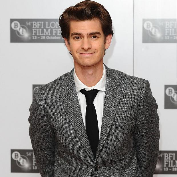 Andrew Garfield finds the red carpet daunting