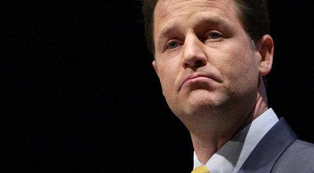 Nick Clegg said hard-working Britons will be the Government's priority group for maximum support this year