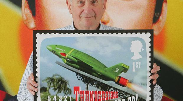 The work of Gerry Anderson, creator of Thunderbirds and Captain Scarlet, is marked in a series of special stamps