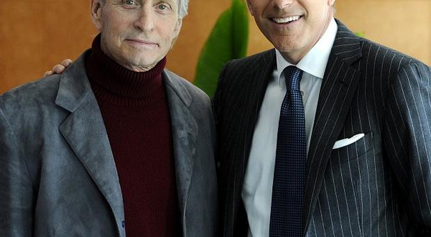 Michael Douglas was interviewed by Matt Lauer for NBC's Today show (AP)