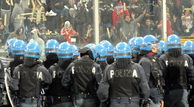 The actions of some Serbian fans in Genoa led to the game against Italy being abandoned and subsequently hit Northern Ireland supporters plans to travel to Belgrade in March.