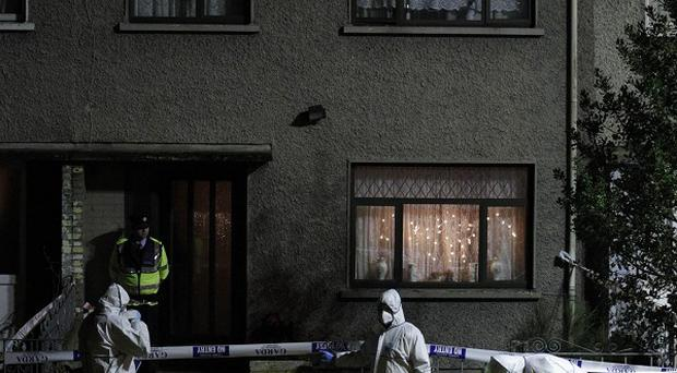 Forensic inquiries are continuing at the scene of the fatal double shooting in Limerick