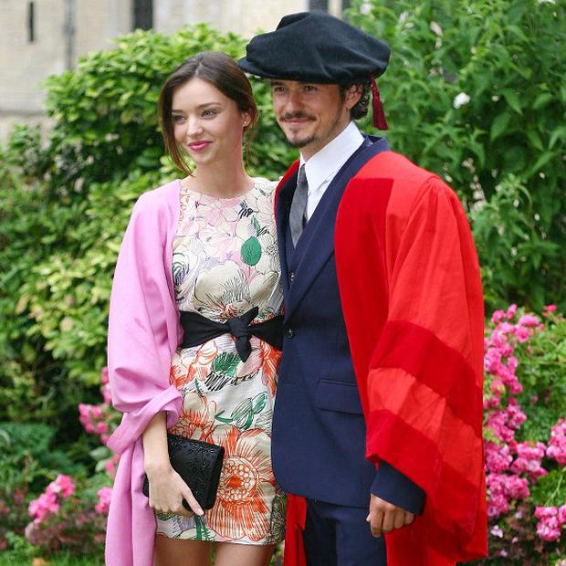 Orlando Bloom and his wife Miranda Kerr have welcomed a baby boy
