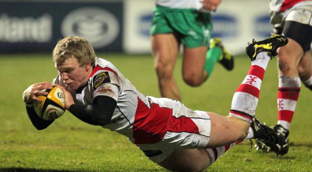 Nevin Spence has made rapid progress since breaking into the Ulster team, and is looking forward to the big showdown with Biarritz this Saturday.